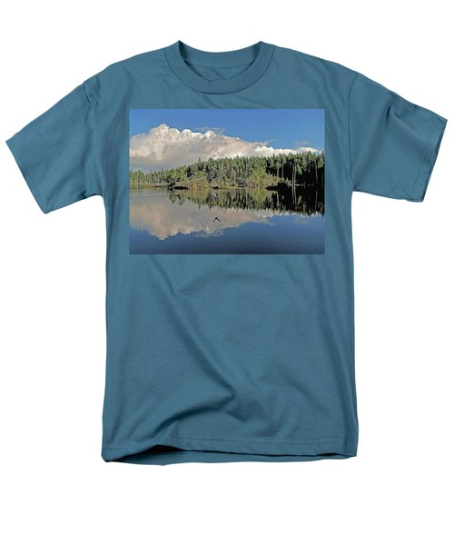 Men's T-Shirt  (Regular Fit) featuring the photograph Pause And Reflect by Suzy Piatt