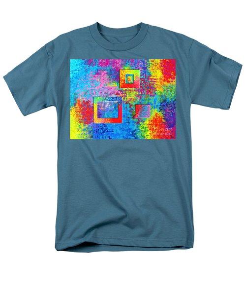 Portals Of Color Men's T-Shirt  (Regular Fit) by Jeremy Aiyadurai