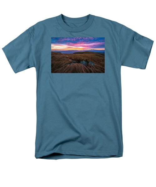 Men's T-Shirt  (Regular Fit) featuring the photograph Roan Mountain Sunrise by Serge Skiba