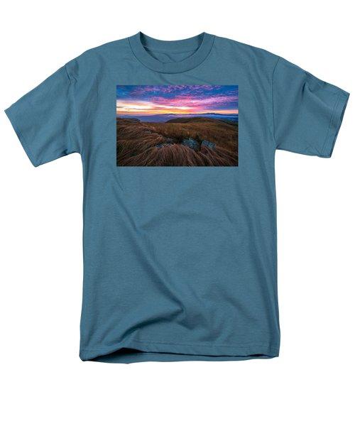Roan Mountain Sunrise Men's T-Shirt  (Regular Fit) by Serge Skiba