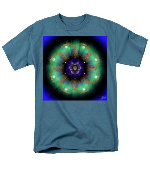 Sacred Geometry 638 Men's T-Shirt  (Regular Fit) by Endre Balogh