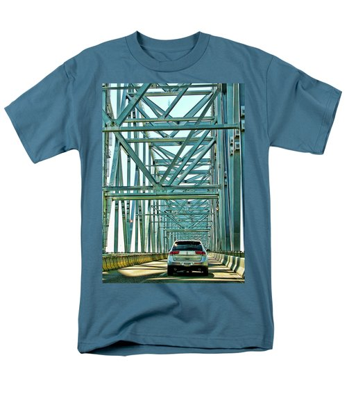 Smile Men's T-Shirt  (Regular Fit) by Rhonda McDougall