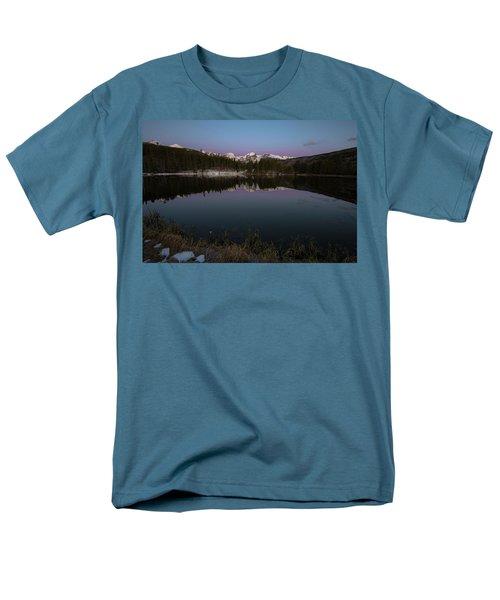 Sprague Lake Men's T-Shirt  (Regular Fit) by Gary Lengyel