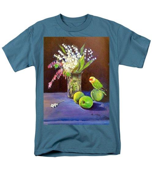 Still Life Men's T-Shirt  (Regular Fit) by Rose Wang