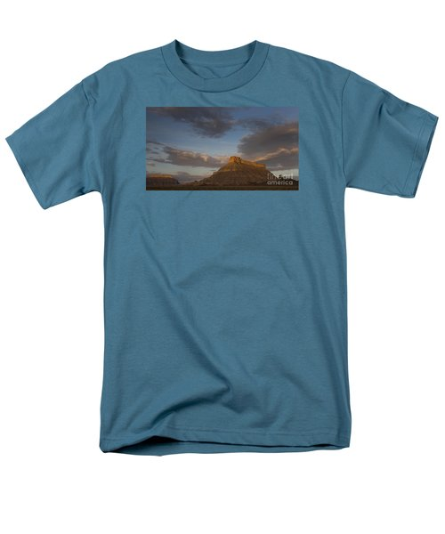 Sunrise Over Factory Butte Men's T-Shirt  (Regular Fit) by Keith Kapple