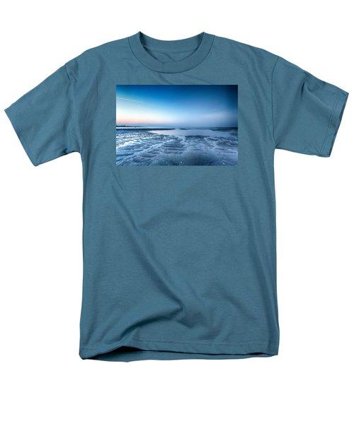 Men's T-Shirt  (Regular Fit) featuring the photograph Blue Sunrise by Alan Raasch