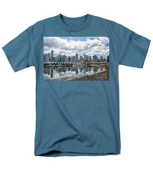 Vancouver Skyline Men's T-Shirt  (Regular Fit) by Patricia Hofmeester