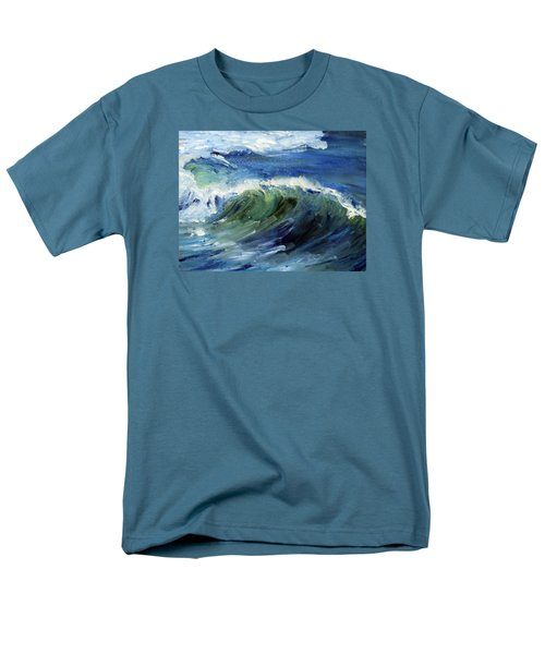Wave Action Men's T-Shirt  (Regular Fit) by Michael Helfen