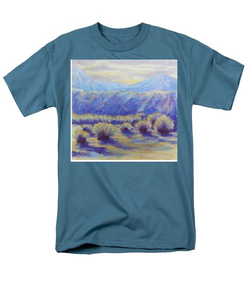 Winter Morning Riverbend Men's T-Shirt  (Regular Fit) by Becky Chappell