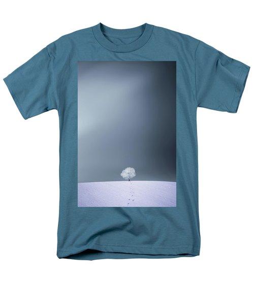 Men's T-Shirt  (Regular Fit) featuring the photograph Winter Tree by Bess Hamiti