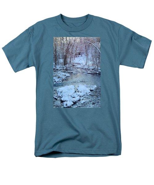 Men's T-Shirt  (Regular Fit) featuring the photograph Winter Wonderland by Dacia Doroff