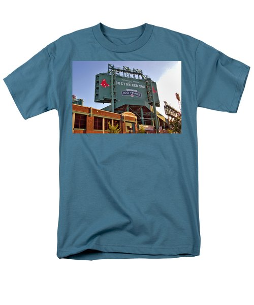 100 Years At Fenway Men's T-Shirt  (Regular Fit) by Joann Vitali