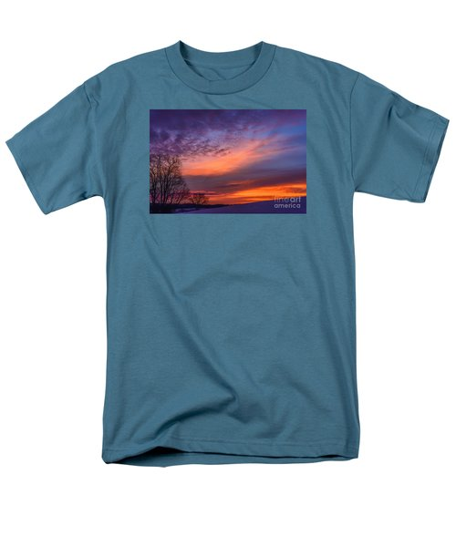 Dawn Of The Day Men's T-Shirt  (Regular Fit) by Thomas R Fletcher