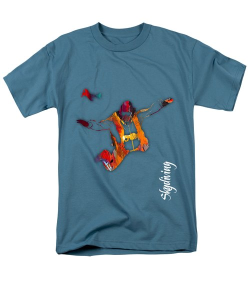Skydiving Collection Men's T-Shirt  (Regular Fit) by Marvin Blaine