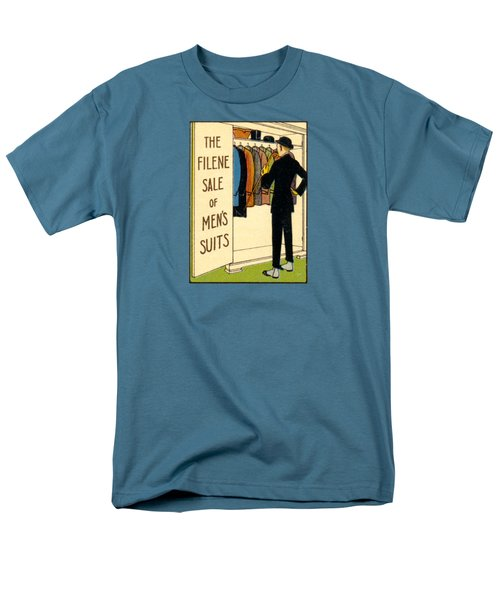 Men's T-Shirt  (Regular Fit) featuring the painting 1920 Mens's Suites On Sale by Historic Image