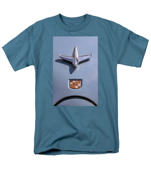 Men's T-Shirt  (Regular Fit) featuring the photograph 1951 Studebaker Champion Hood Ornament by Betty Denise