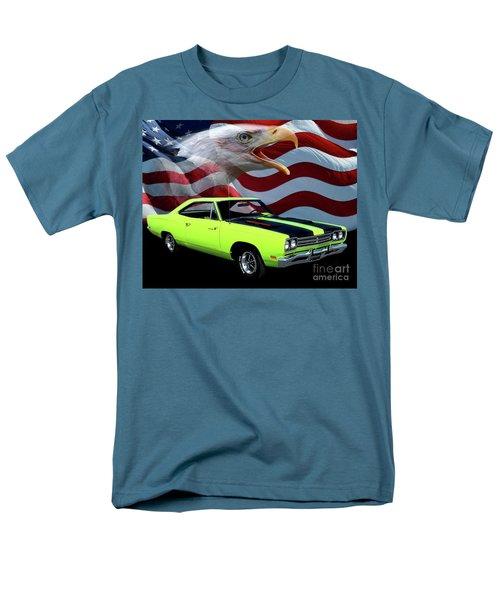 1969 Plymouth Road Runner Tribute Men's T-Shirt  (Regular Fit) by Peter Piatt