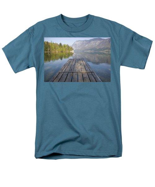 Alpine Clarity Men's T-Shirt  (Regular Fit) by Ian Middleton