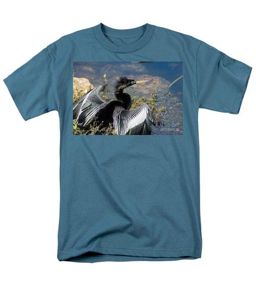 Anhiinga Men's T-Shirt  (Regular Fit) by Carol Ailles