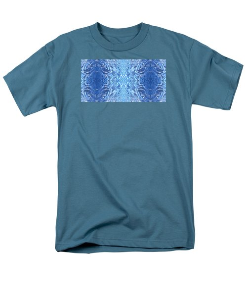 Frost Feathers Men's T-Shirt  (Regular Fit) by Marianne Dow