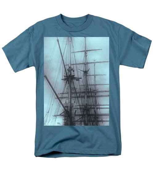 Men's T-Shirt  (Regular Fit) featuring the photograph Gorch Fock ... by Juergen Weiss
