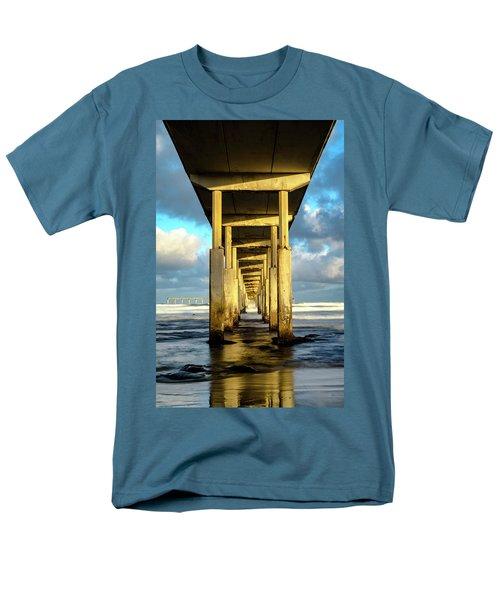 Morning Reflections Men's T-Shirt  (Regular Fit) by Joseph S Giacalone