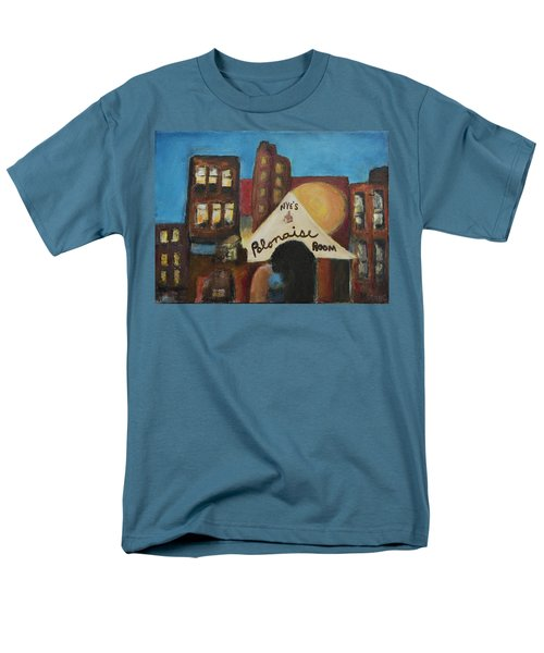 Men's T-Shirt  (Regular Fit) featuring the painting Nye's Polonaise Room by Susan Stone
