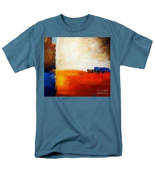4 Corners Landscape Men's T-Shirt  (Regular Fit) by Gallery Messina
