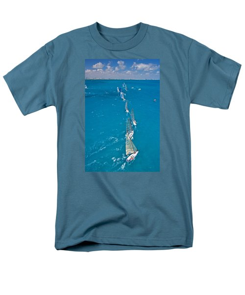 From On High Men's T-Shirt  (Regular Fit) by Steven Lapkin