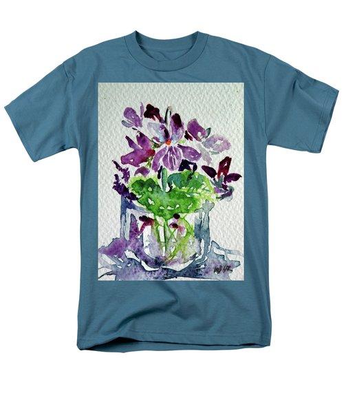 Violet Men's T-Shirt  (Regular Fit) by Kovacs Anna Brigitta