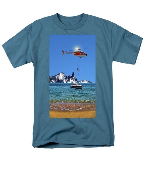 Men's T-Shirt  (Regular Fit) featuring the photograph 4372 by Peter Holme III