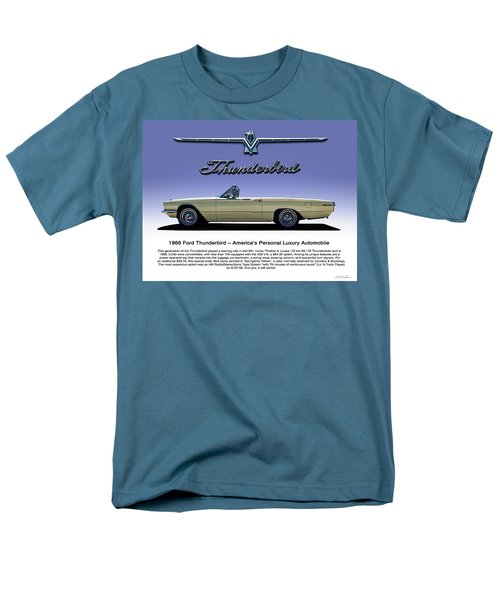 66 T-bird Display Piece Men's T-Shirt  (Regular Fit) by Douglas Pittman