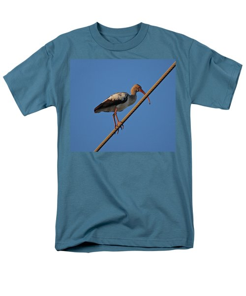 Men's T-Shirt  (Regular Fit) featuring the photograph 8- Brown Ibis by Joseph Keane