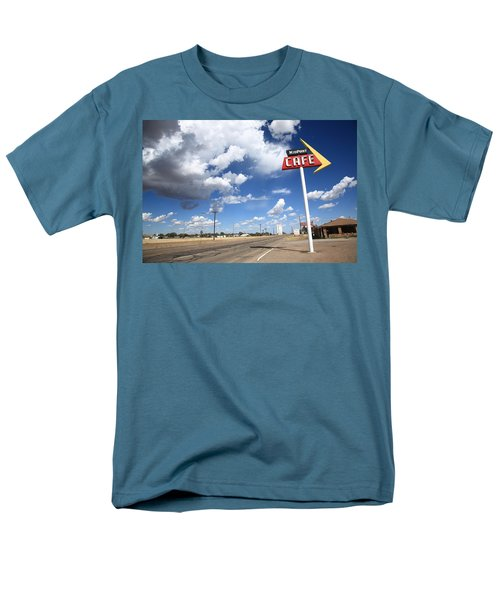 Route 66 Cafe Men's T-Shirt  (Regular Fit) by Frank Romeo