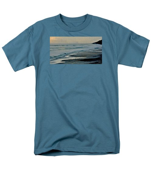 Stormy Morning At The Sea Men's T-Shirt  (Regular Fit) by Werner Lehmann