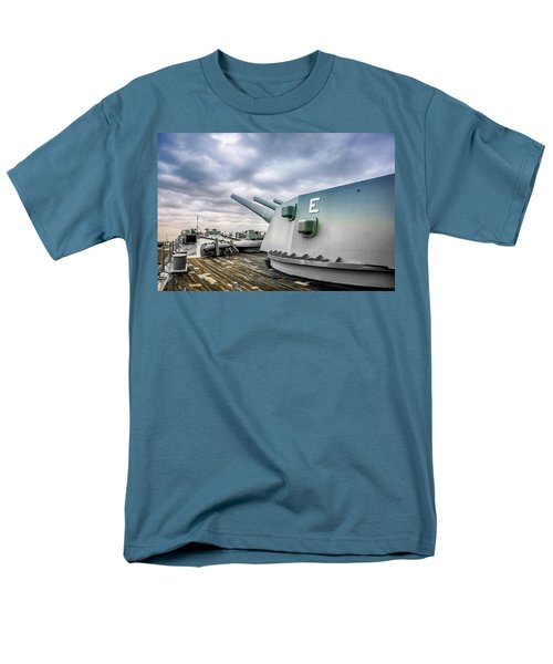 Uss Alabama Men's T-Shirt  (Regular Fit) by Chris Smith
