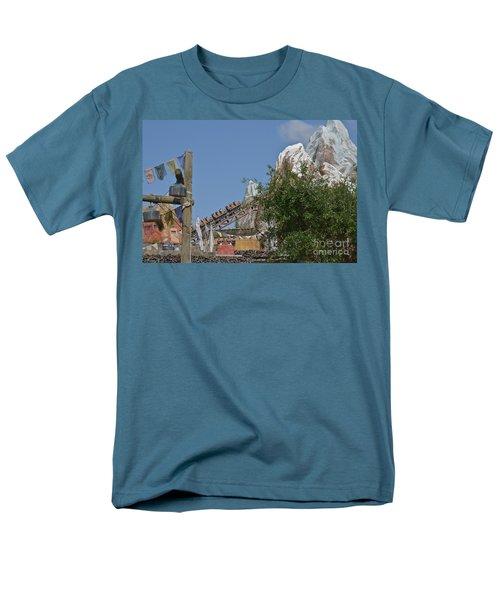 Men's T-Shirt  (Regular Fit) featuring the photograph A Mountain Of Fun by Carol  Bradley