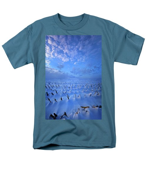 Men's T-Shirt  (Regular Fit) featuring the photograph A Quiet Light Purely Seen by Phil Koch