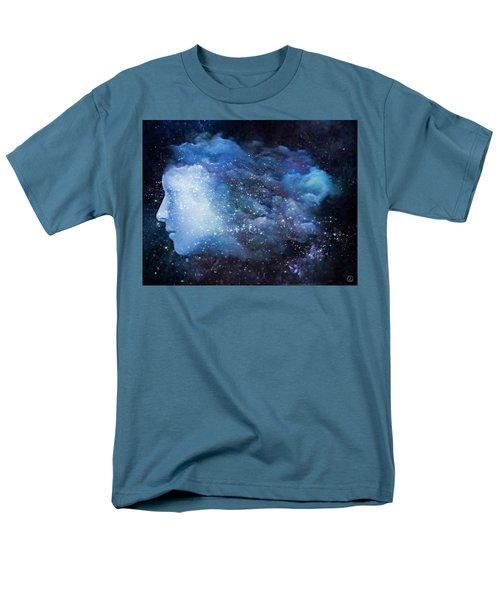 Men's T-Shirt  (Regular Fit) featuring the digital art A Soul In The Sky by Gun Legler