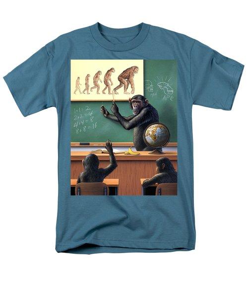 A Specious Origin Men's T-Shirt  (Regular Fit) by Jerry LoFaro
