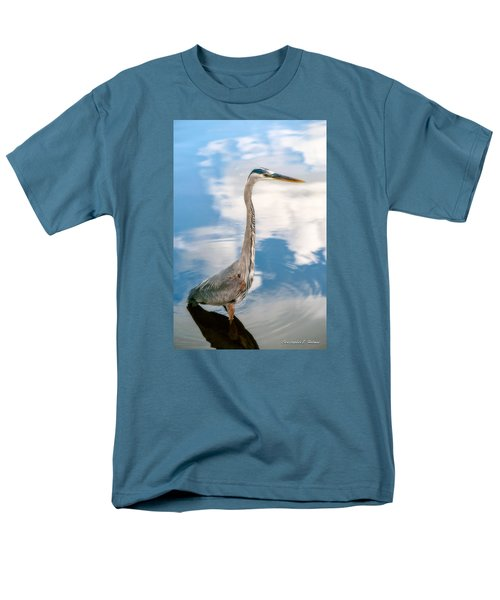 Men's T-Shirt  (Regular Fit) featuring the photograph A Stroll Among The Clouds by Christopher Holmes