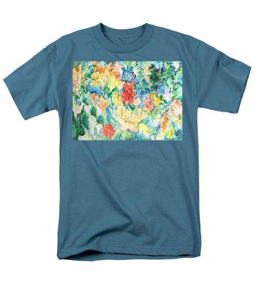 A Summer Garden Frolic Men's T-Shirt  (Regular Fit) by Esther Newman-Cohen