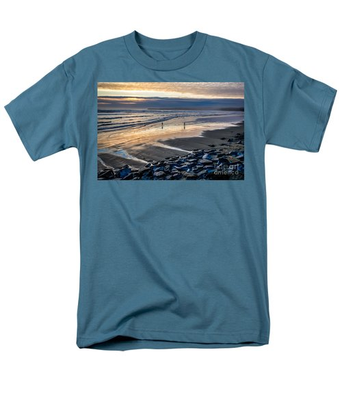 A Walk In The Evening Men's T-Shirt  (Regular Fit) by Juergen Klust