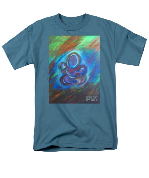 Men's T-Shirt  (Regular Fit) featuring the painting Abstract Mother by Brindha Naveen