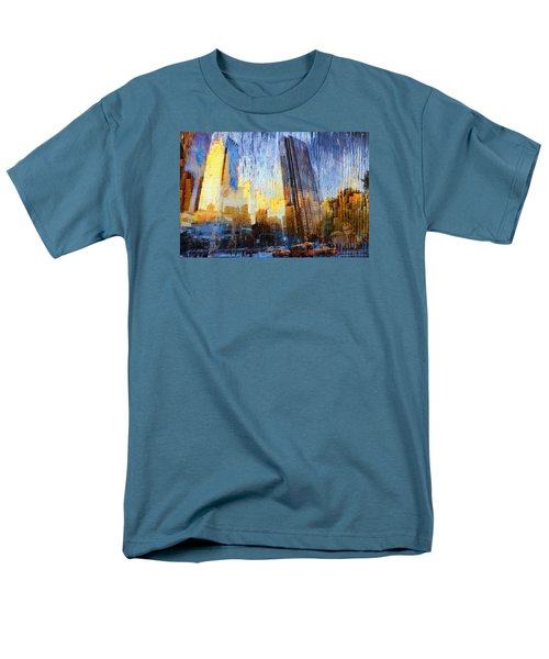Men's T-Shirt  (Regular Fit) featuring the photograph Abstract Vision by John Rivera