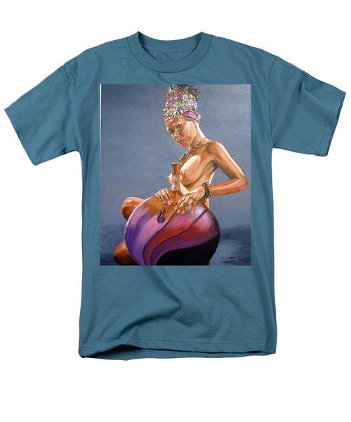 African Queen Men's T-Shirt  (Regular Fit) by Bryan Bustard