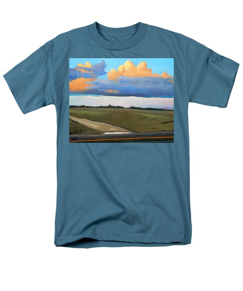 Men's T-Shirt  (Regular Fit) featuring the painting After Shower by Gary Coleman