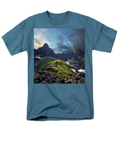 After The Rain Storm Men's T-Shirt  (Regular Fit)