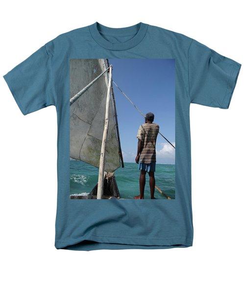 Afternoon Sailing In Africa Men's T-Shirt  (Regular Fit) by Exploramum Exploramum