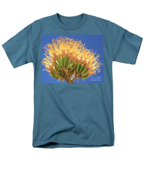 Agave Bloom Men's T-Shirt  (Regular Fit) by Donna Greene
